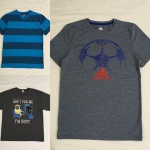 Bundle of 3 Boy's Shirts Size L